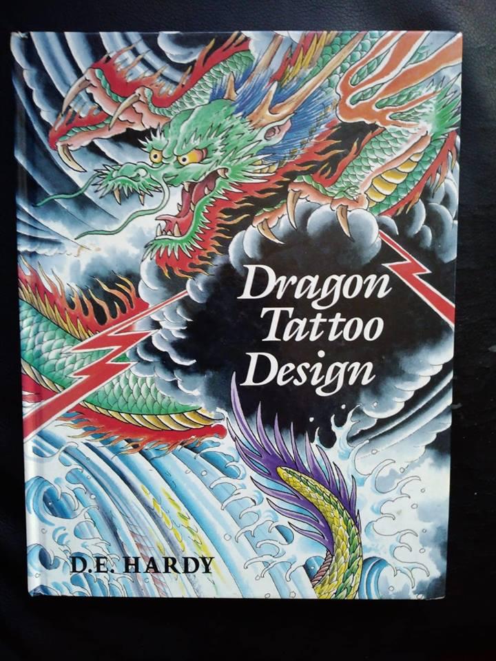 Dragon Tattoo Design by Don Ed Hardy (Rare) 1988